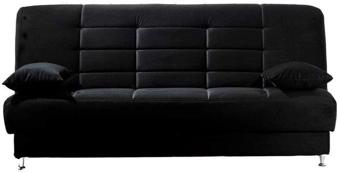 Vegas Sleeper Sofa Rainbow Black