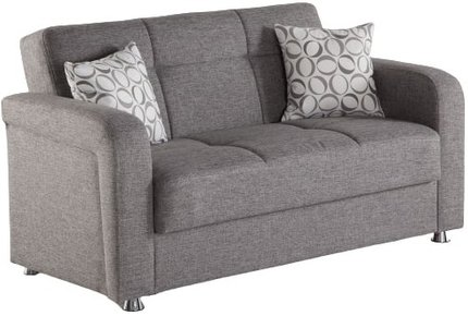 Vision Loveseat Gray