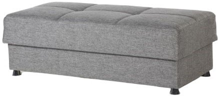 Vision Ottoman Diego Gray