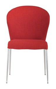Oulu Dining Chair Tangerine (Set of 4 Units)