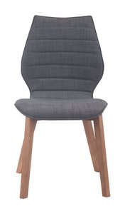 Aalborg Dining Chair Graphite (Set of 2 Units)