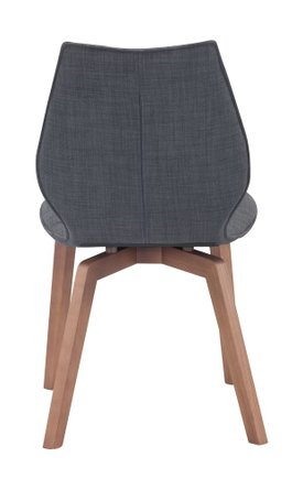 Aalborg Dining Chair Graphite (Set of 2)