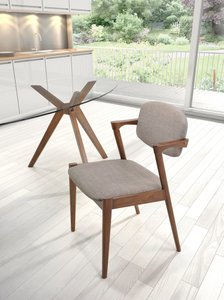 Brickell Dining Chair Dove Gray (Set of 2 Units)