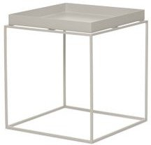 DWR Tray Side Table Warm Gray