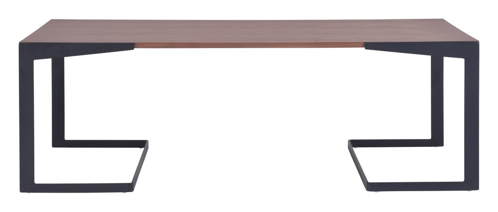 Sister Coffee Table Walnut & White