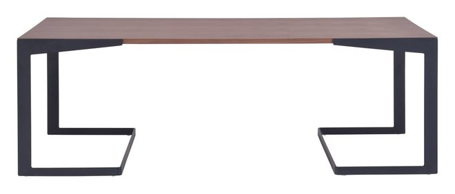 Sister Coffee Table Walnut & Black