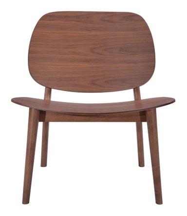 Priest Lounge Chair Walnut (Set of 2)