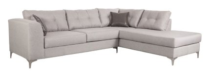 Memphis Sectional Rhf Smoke