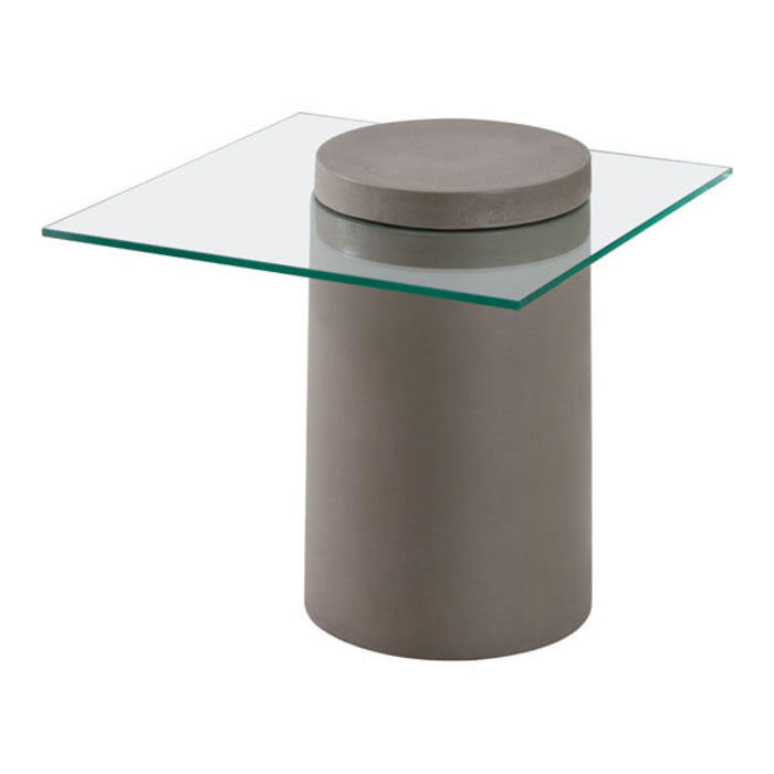 Monolith Side Table Cement