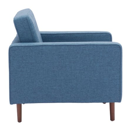 Puget Arm Chair Blue