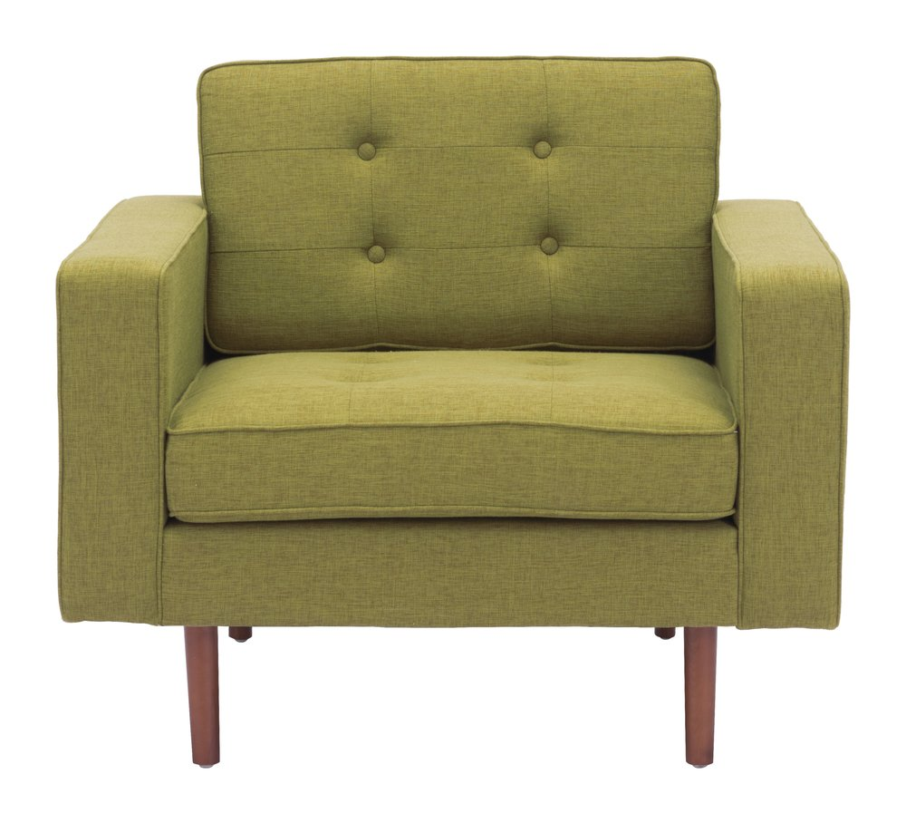 Puget Arm Chair Green