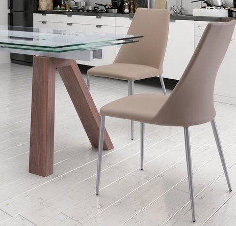 Whisp Dining Chair Beige (Set of 2)
