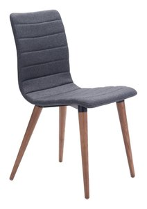 Jericho Dining Chair Gray (Set of 2)