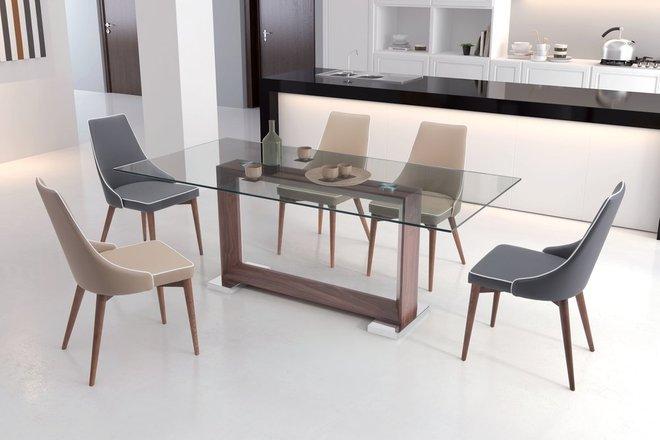 Moor Dining Chair Dark Gray ( Set of 2 Units )