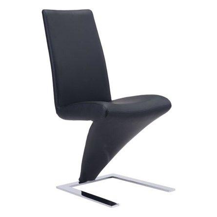 Herron Dining Chair Black (Set of 2)