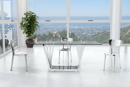 Winter Chair Stainless Steel (Set of 2 Units)