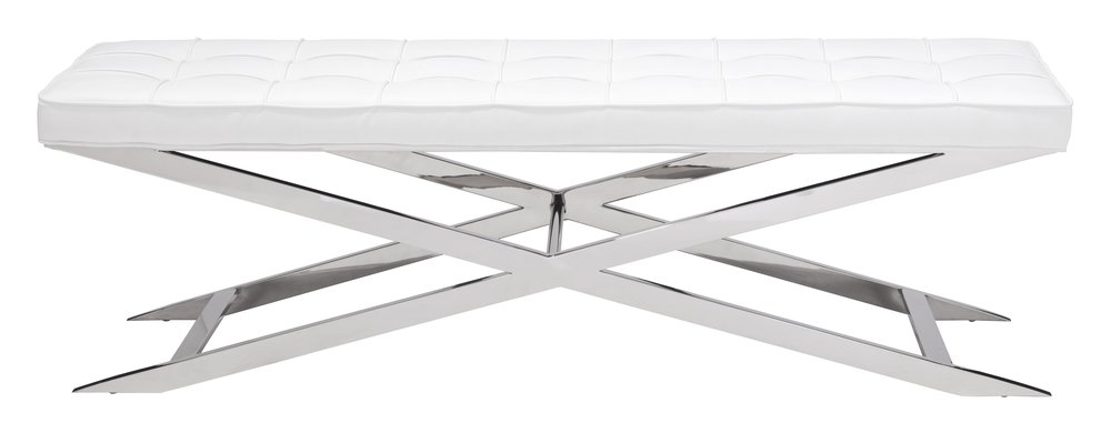 Pontis Bench White