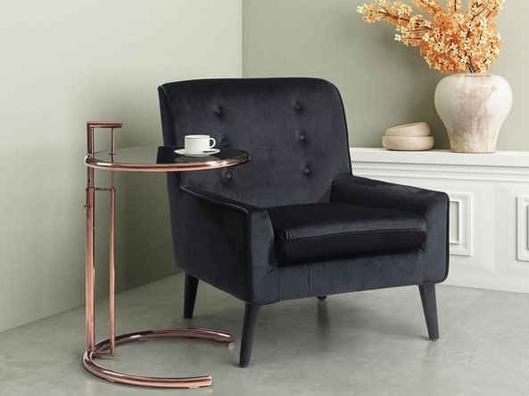 Eileen Gray Table Rose Gold