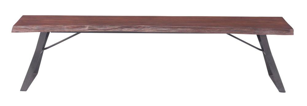 Omaha Bench Distressed Cherry Oak