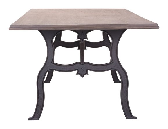 Bellevue Dining Table Distresses Natural