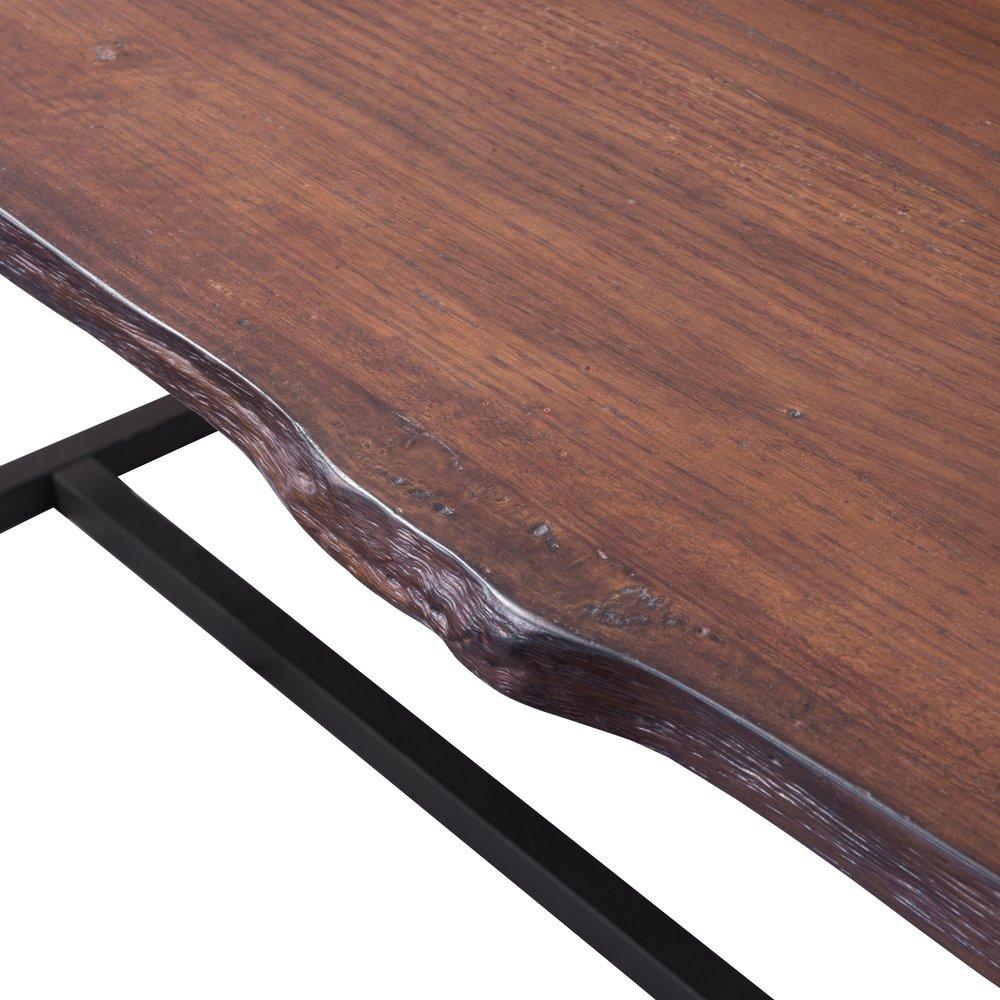 Papillion Dining Table Distressed Cherry Oak