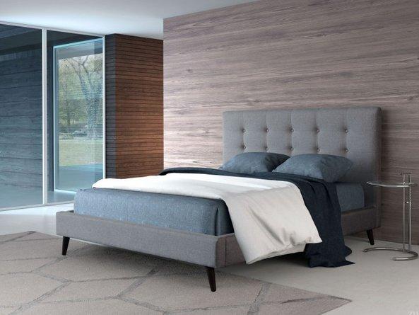 Modernity Queen Bed Gray