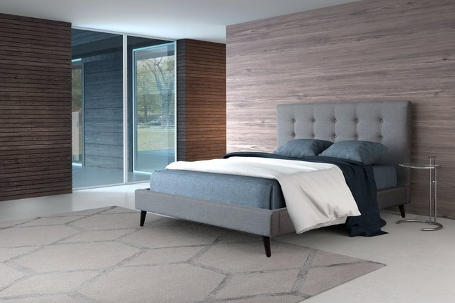 Modernity King Bed Gray
