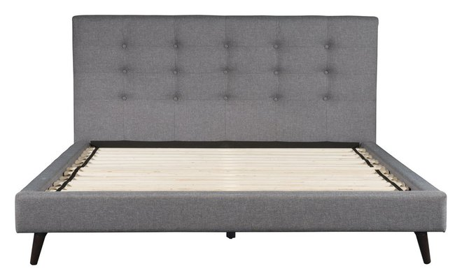 Modernity King Bed Gray