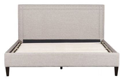 Renaissance King Bed Dove Gray