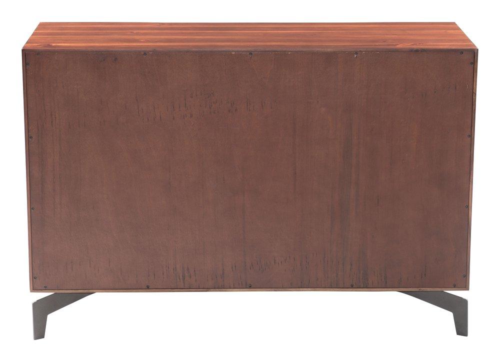Perth Console Table Chestnut