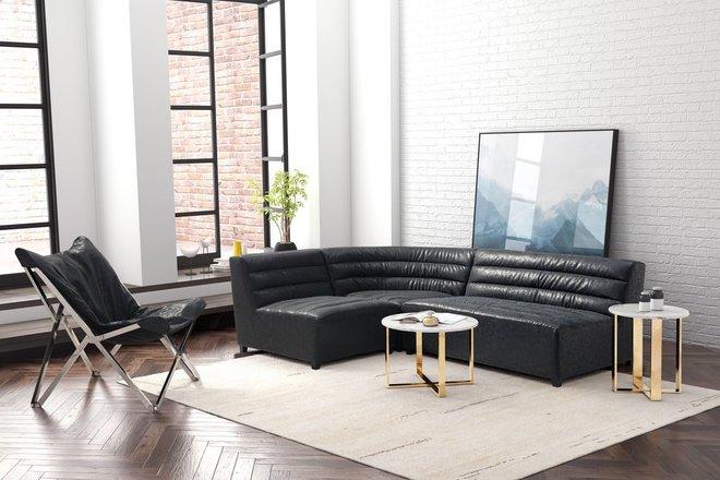 Soho Corner Chair Black