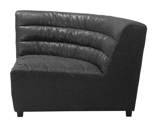 Soho Corner Chair Black