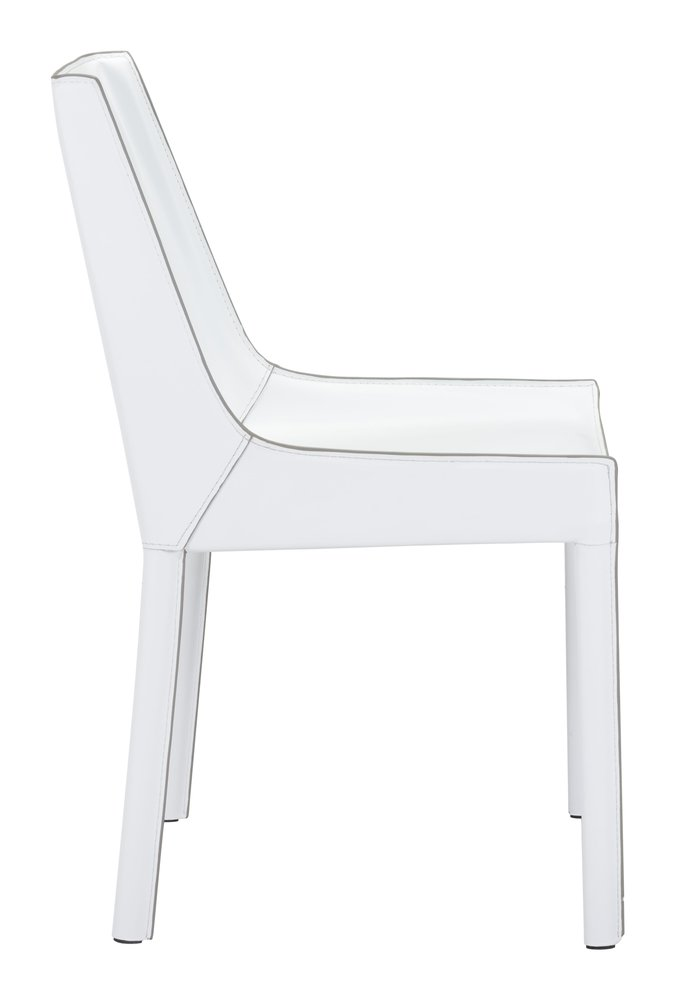 Fashion Dining Chair White ( Set of 2 Units )