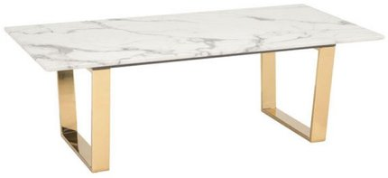 Atlas Coffee Table Stone & Gold