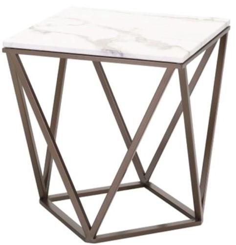 Tintern End Table White