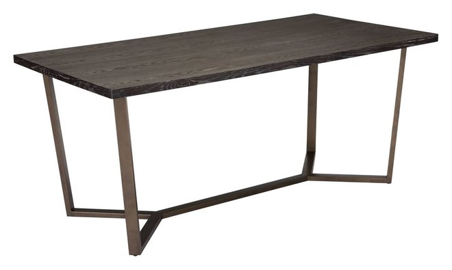 Brooklyn Dining Table Gray Oak