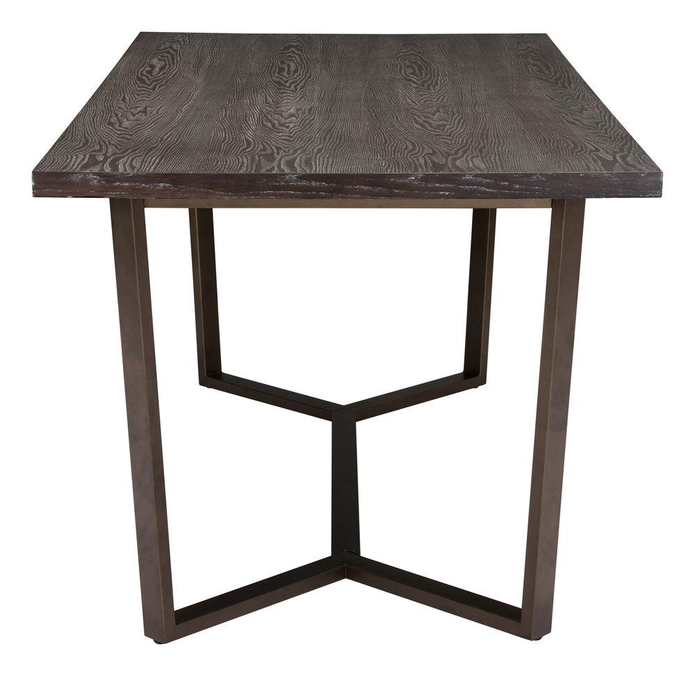 Brooklyn Dining Table Gray Oak