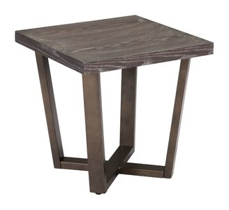 Brooklyn Side Table Gray Oak