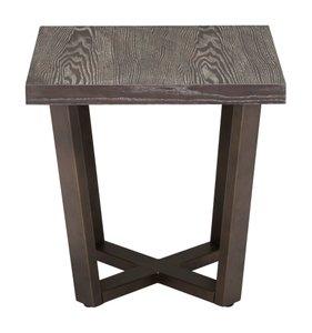 Brooklyn Side Table Gray Oak