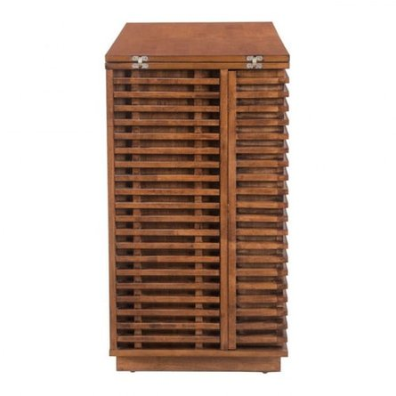 Linea Bar Cabinet Walnut