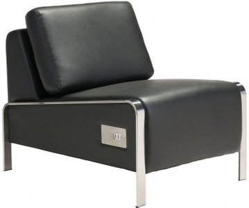 Thor Armless Chair Black