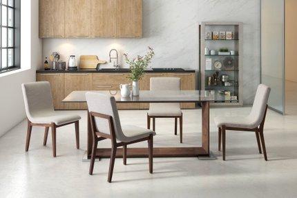 Hamilton Dining Chair Beige (Set of 2 Units)