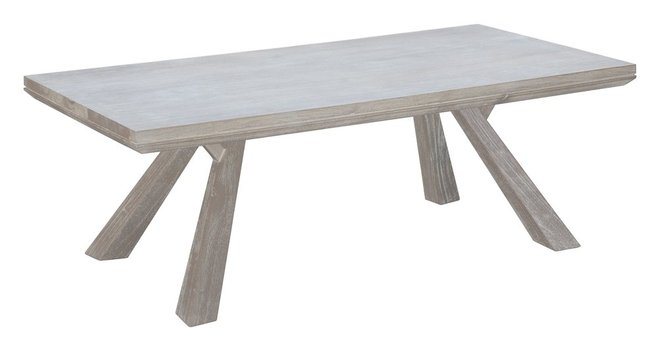Beaumont Rectangular Coffee Table Sun Drenched Acacia In