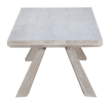 Beaumont Rectangular Coffee Table Gray