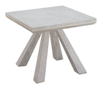 Beaumont End Table White