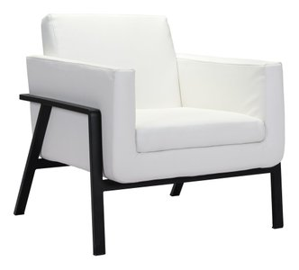 Homestead Lounge Chair White