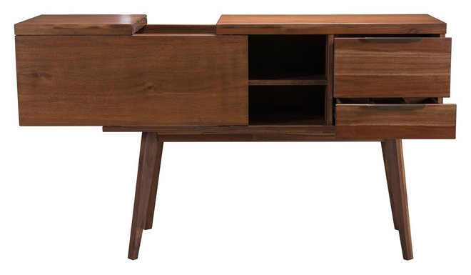 Cooper Whiskey Cabinet Chestnut