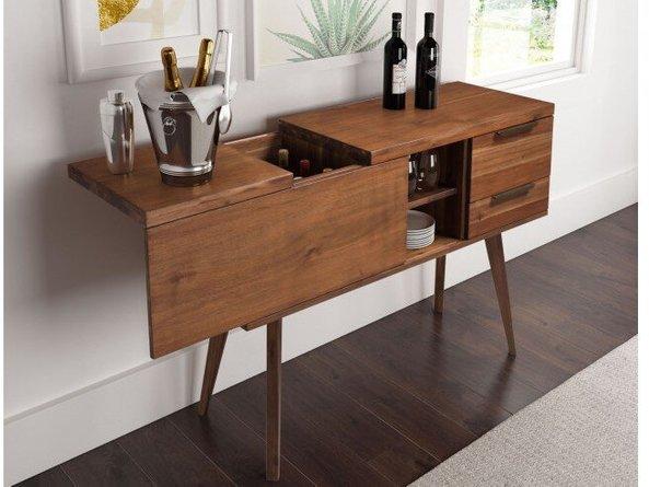 Cooper Whiskey Cabinet Chestnut