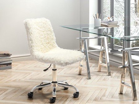 Coco Office Chair Ivory