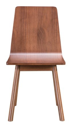 Audrey Dining Chair Walnut (Set Of 2)